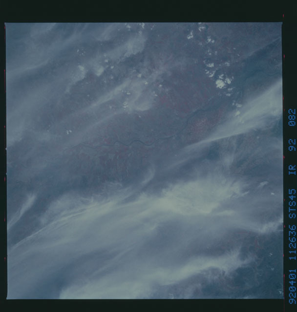 S45-92-082 - STS-045 - STS-45 earth observations