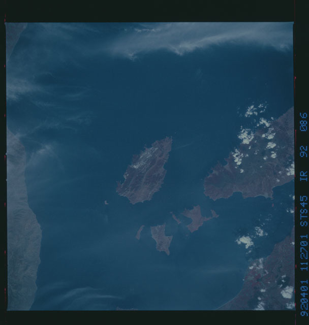S45-92-086 - STS-045 - STS-45 earth observations