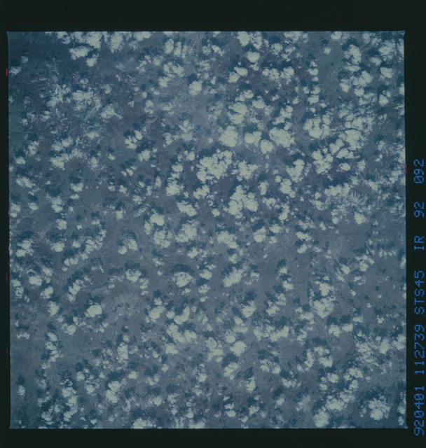 S45-92-092 - STS-045 - STS-45 earth observations