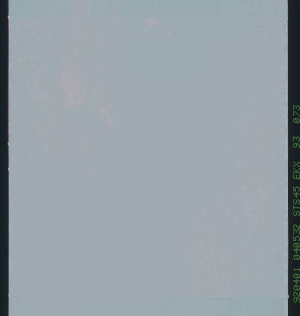 S45-93-073 - STS-045 - Blank