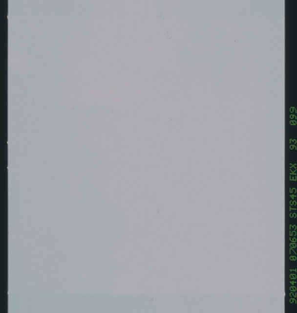 S45-93-099 - STS-045 - Blank