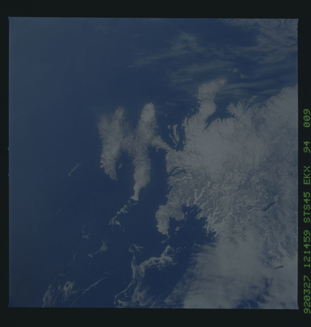 S45-94-009 - STS-045 - STS-45 earth observations