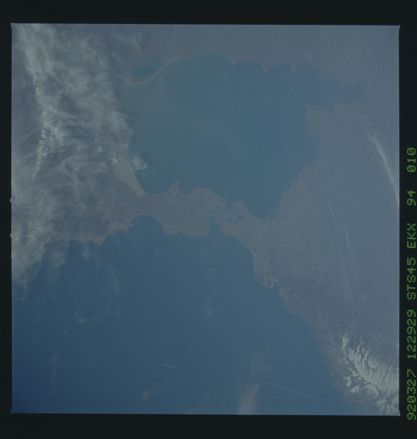 S45-94-010 - STS-045 - STS-45 earth observations
