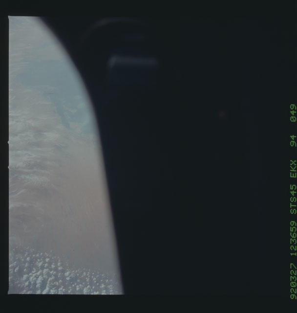 S45-94-049 - STS-045 - STS-45 earth observations