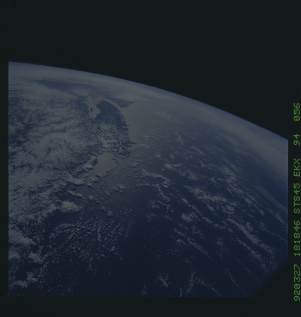 S45-94-056 - STS-045 - STS-45 earth observations