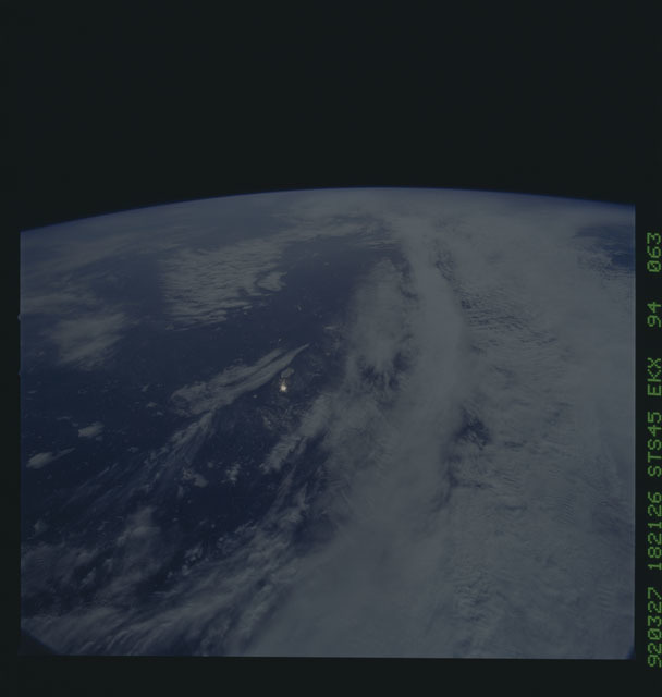 S45-94-063 - STS-045 - STS-45 earth observations