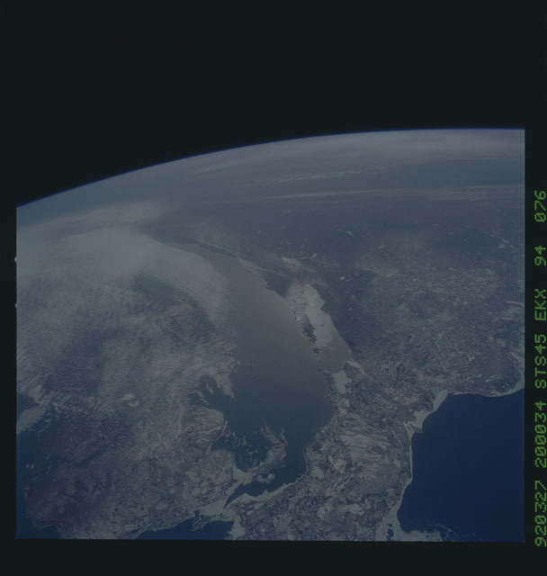 S45-94-076 - STS-045 - STS-45 earth observations
