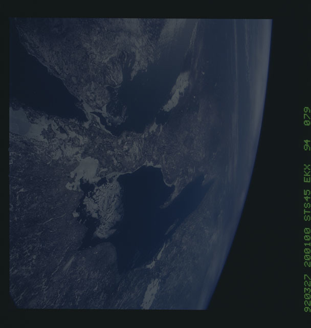 S45-94-079 - STS-045 - STS-45 earth observations
