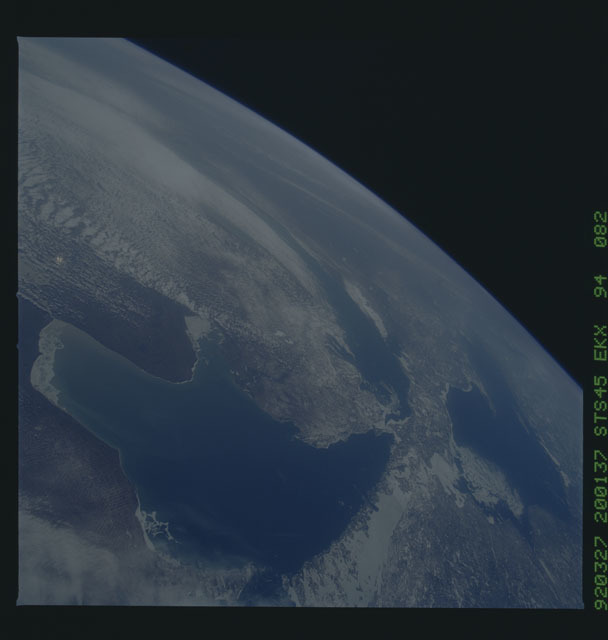 S45-94-082 - STS-045 - STS-45 earth observations