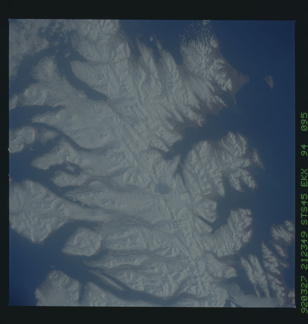 S45-94-095 - STS-045 - STS-45 earth observations