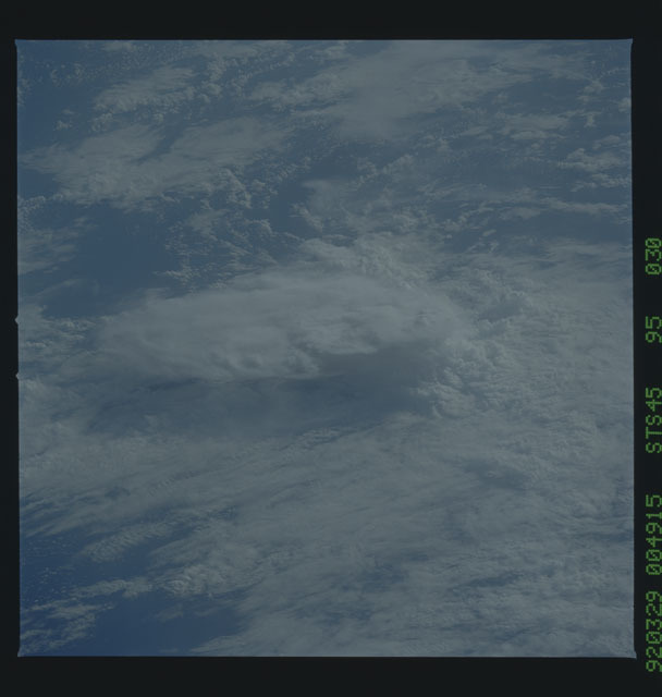 S45-95-030 - STS-045 - STS-45 earth observations