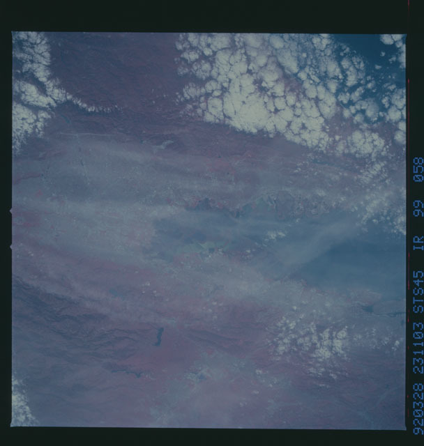 S45-99-058 - STS-045 - STS-45 earth observations
