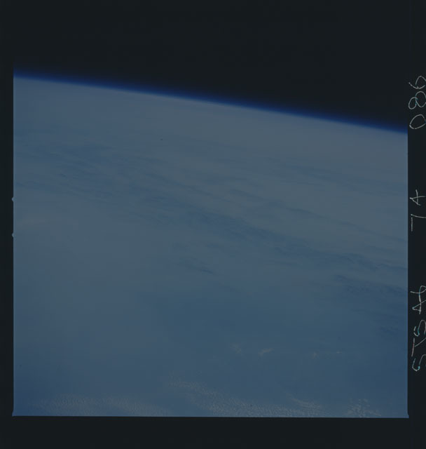 S46-74-086 - STS-046 - Earth observations taken from the shuttle orbiter Atlantis during STS-46