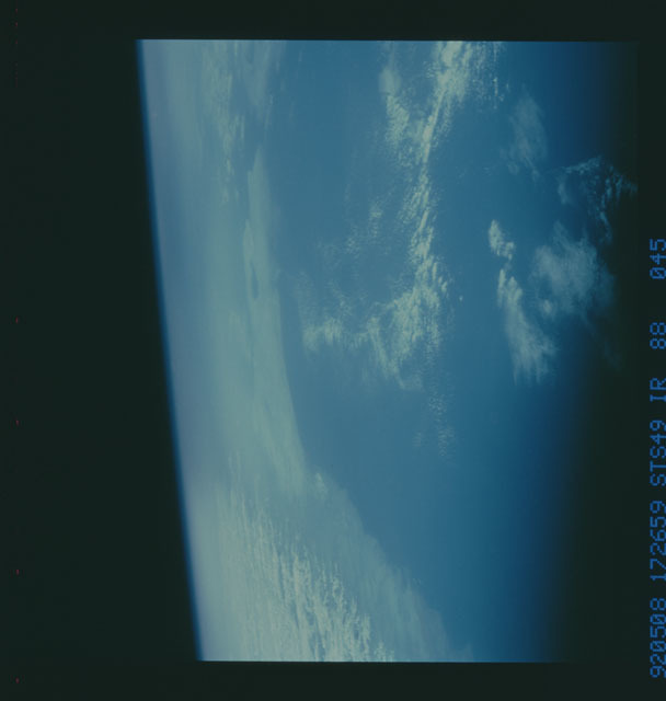 S49-88-045 - STS-049 - STS-49 earth observations