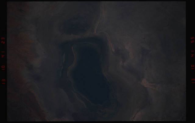 STS050-10-001 - STS-050 - Earth observation scenes of desert, ocean and coastline -  location unknown.