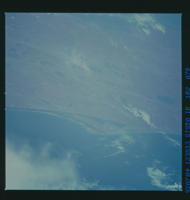 STS050-102-079 - STS-050 - STS-50 earth observations