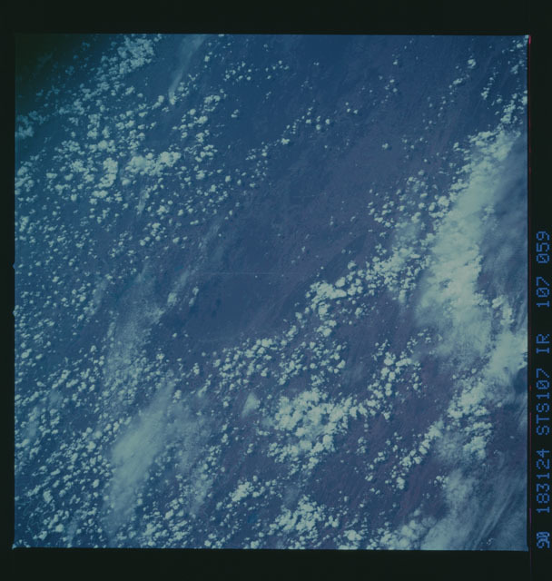 STS050-107-059 - STS-050 - STS-50 earth observations