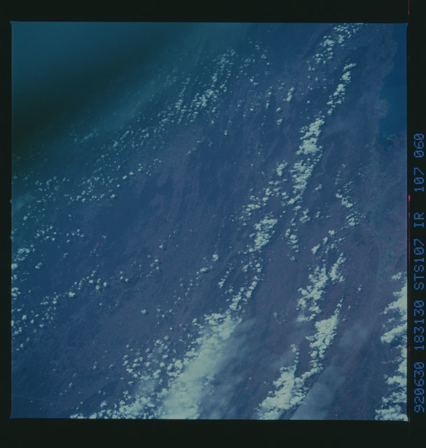 STS050-107-060 - STS-050 - STS-50 earth observations