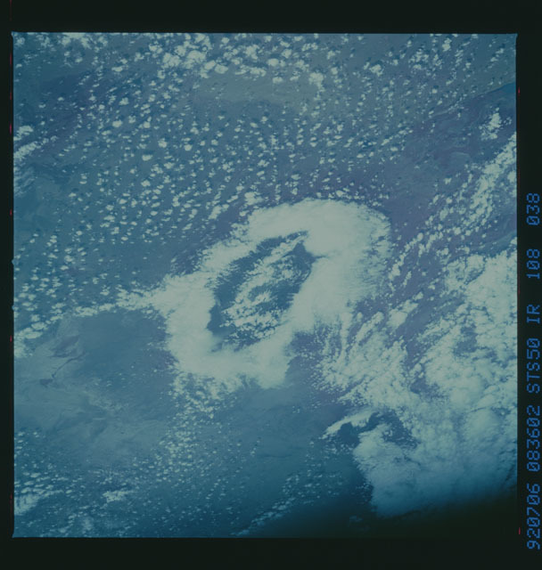 STS050-108-038 - STS-050 - STS-50 earth observations