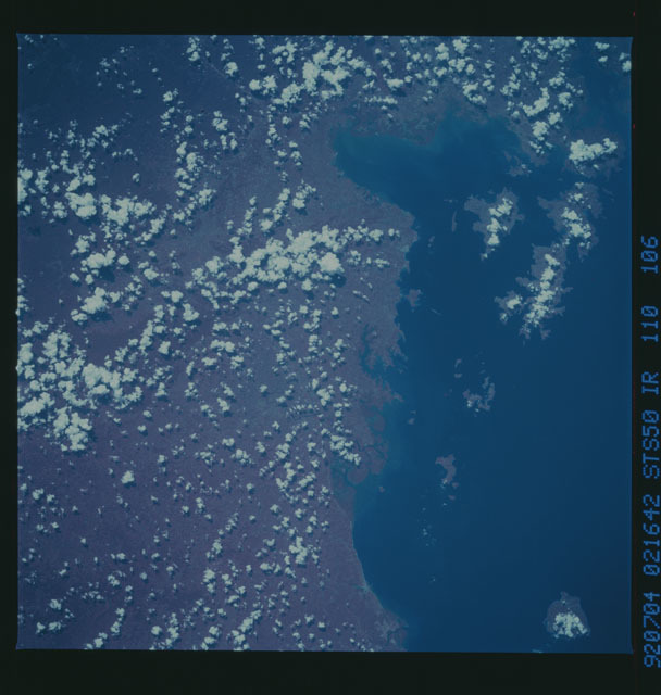 STS050-110-106 - STS-050 - STS-50 earth observations