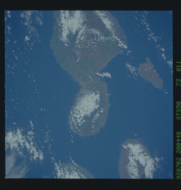 STS050-73-011 - STS-050 - STS-50 earth observations