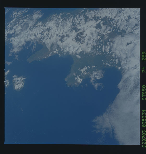 STS050-74-059 - STS-050 - STS-50 earth observations