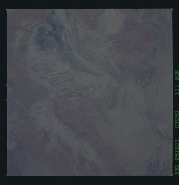 STS051-111-068 - STS-051 - Earth observations