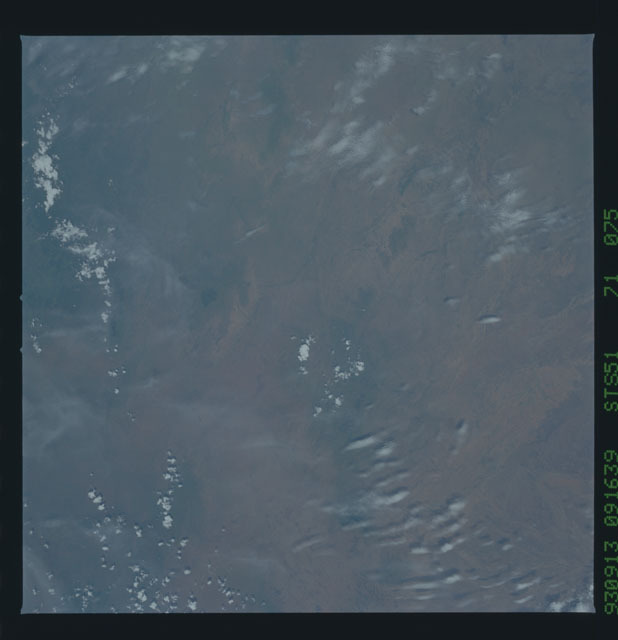 STS051-71-075 - STS-051 - Earth observations