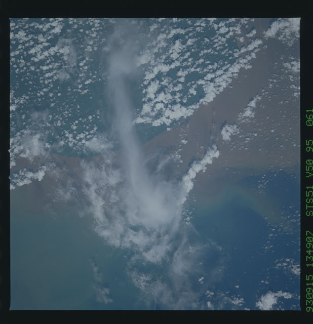 STS051-95-061 - STS-051 - Earth observations