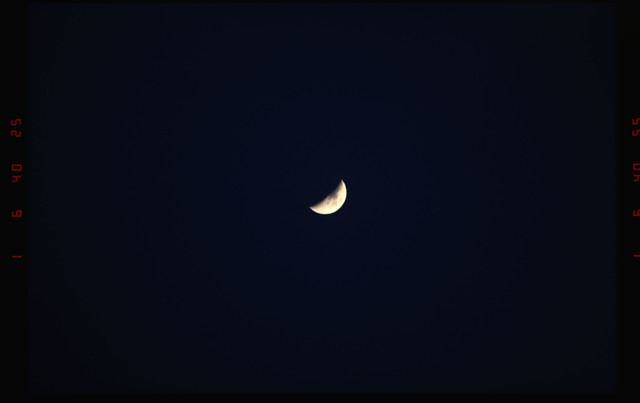 STS052-07-010 - STS-052 - Moon.