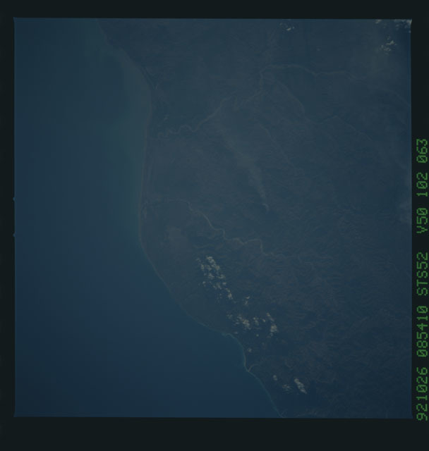 STS052-102-063 - STS-052 - Earth observations from Columbia, Orbiter Vehicle (OV) 102, during STS-52