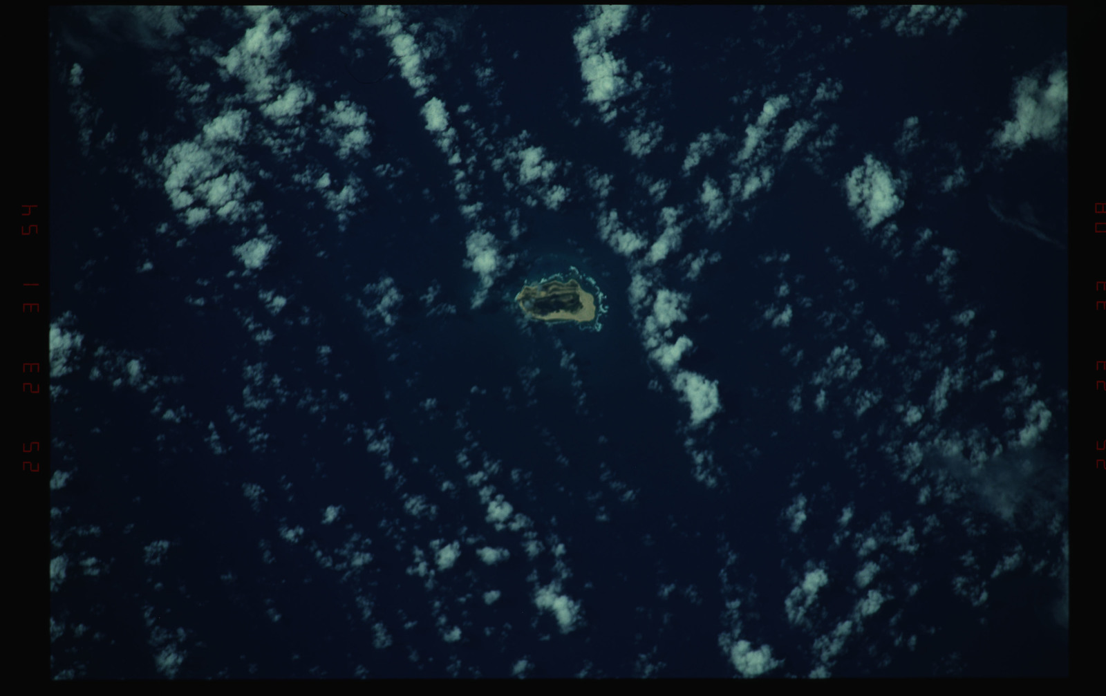 STS052-28-013 - STS-052 - Island.