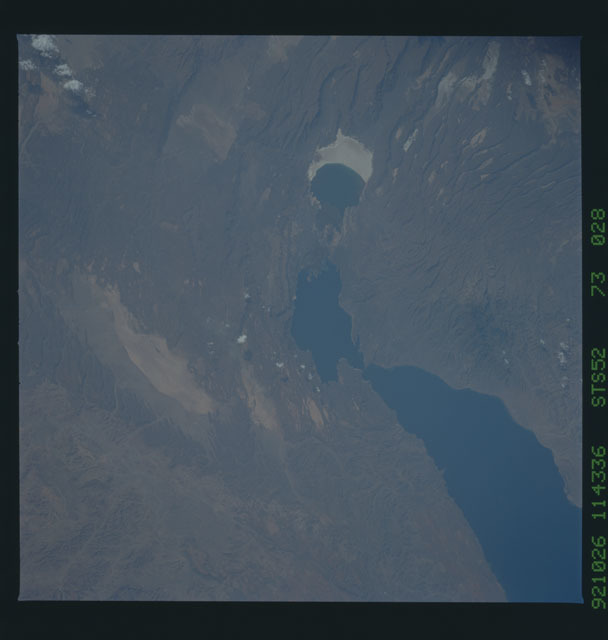 STS052-73-028 - STS-052 - Earth observations from Columbia, OV-102, during STS-52
