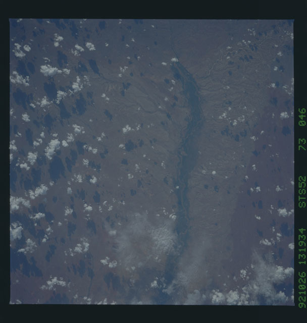 STS052-73-046 - STS-052 - Earth observations from Columbia, OV-102, during STS-52