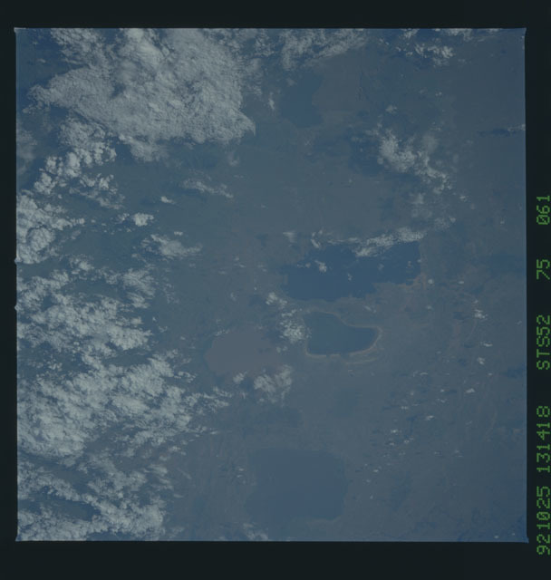 STS052-75-061 - STS-052 - Earth observations from Columbia, OV-102, during STS-52