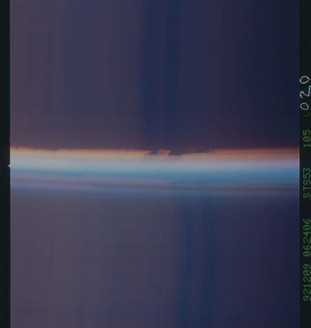 STS053-105-020 - STS-053 - Earth observations