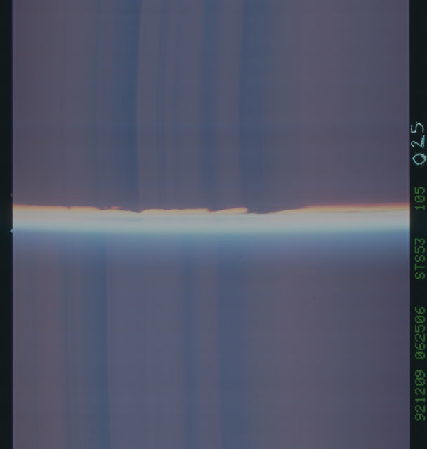 STS053-105-025 - STS-053 - Earth observations