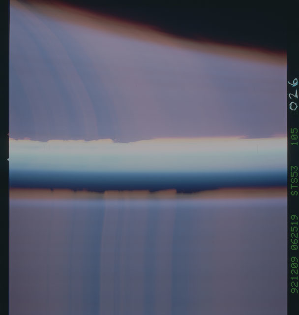 STS053-105-026 - STS-053 - Earth observations