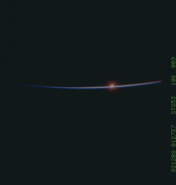 STS053-106-009 - STS-053 - Earth observations