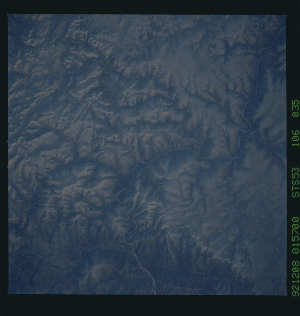 STS053-106-035 - STS-053 - Earth observations