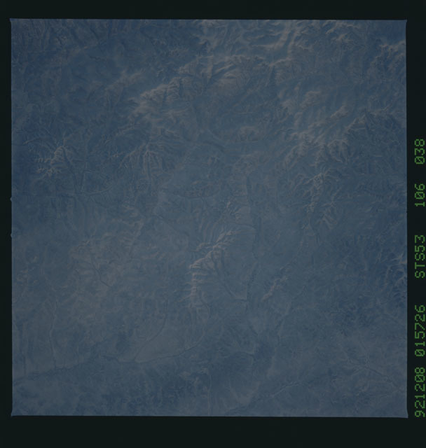 STS053-106-038 - STS-053 - Earth observations