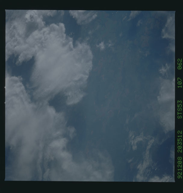 STS053-107-062 - STS-053 - Earth observations