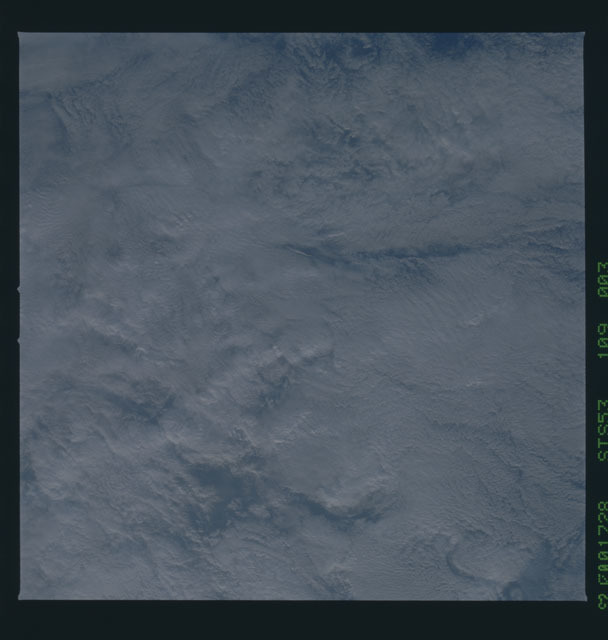 STS053-109-003 - STS-053 - Earth observations