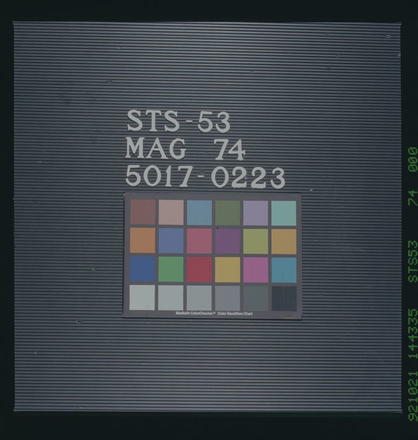 STS053-74-000 - STS-053 - STS-053,MAG 74,5017-0223.
