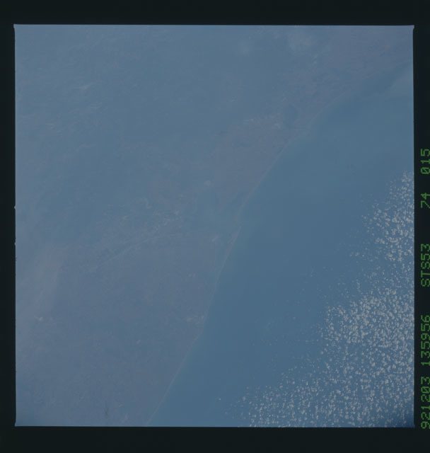 STS053-74-015 - STS-053 - Earth observations