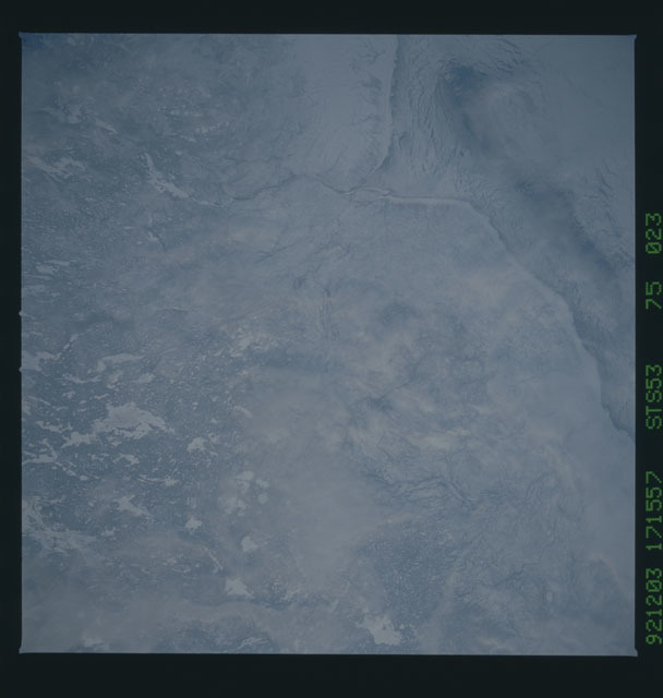 STS053-75-023 - STS-053 - Earth observations