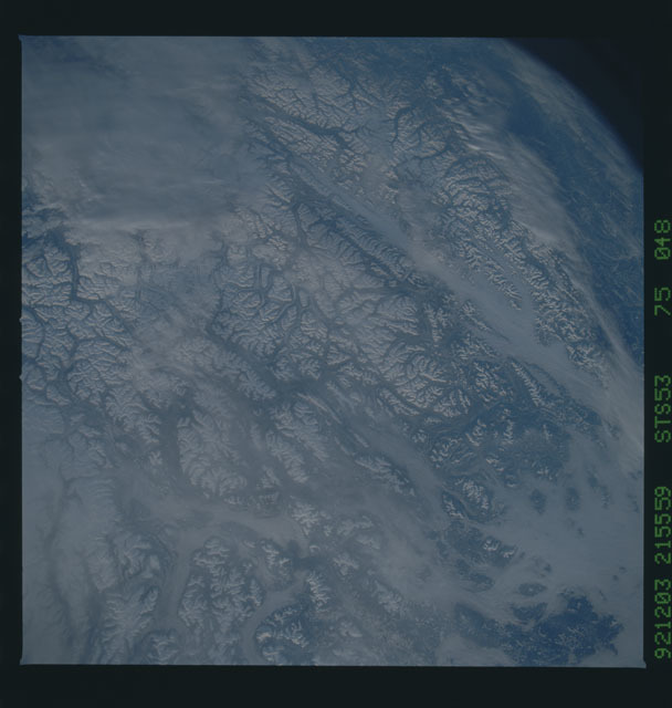 STS053-75-048 - STS-053 - Earth observations