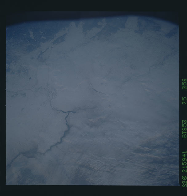 STS053-75-056 - STS-053 - Earth observations