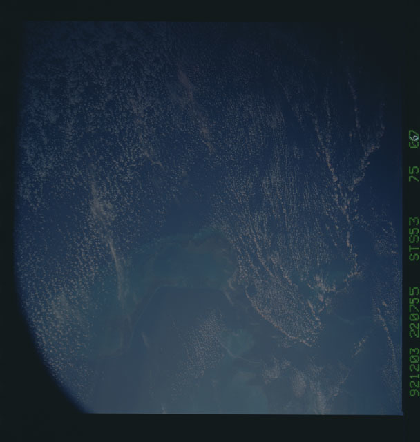 STS053-75-067 - STS-053 - Earth observations