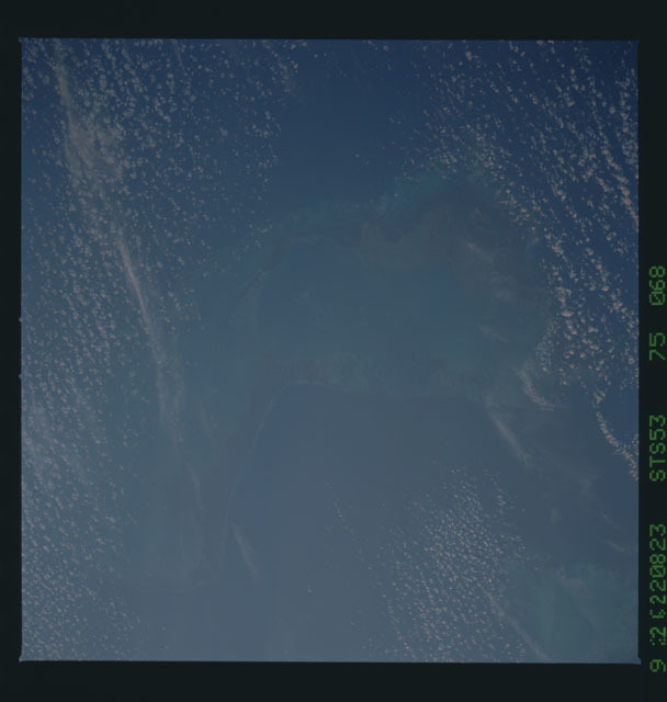 STS053-75-068 - STS-053 - Earth observations